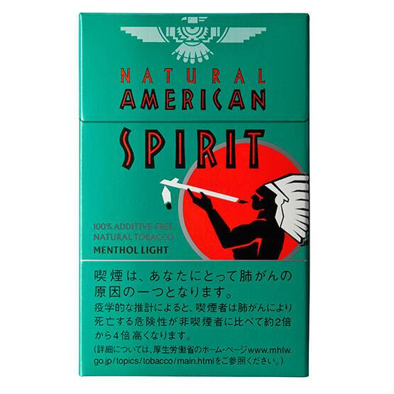natural american spirit menthol light details japan duty